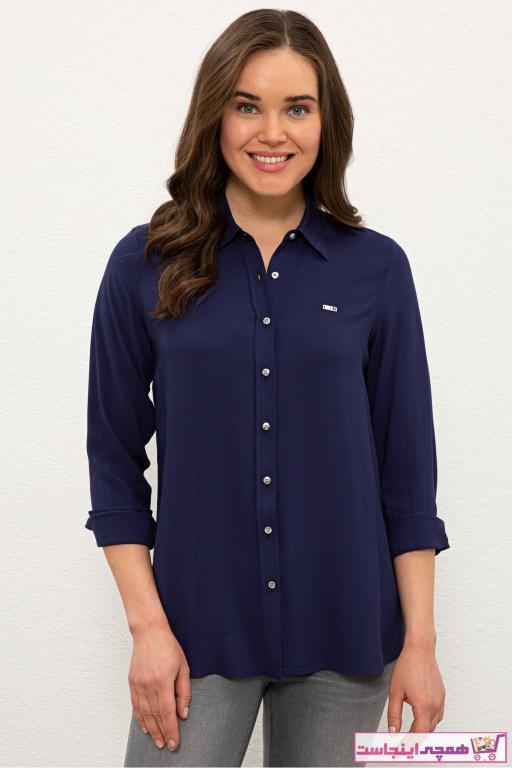 شومیز زنانه ترک مارک U.S. Polo Assn.برند US Polo رنگ لاجوردی کد ty96315086