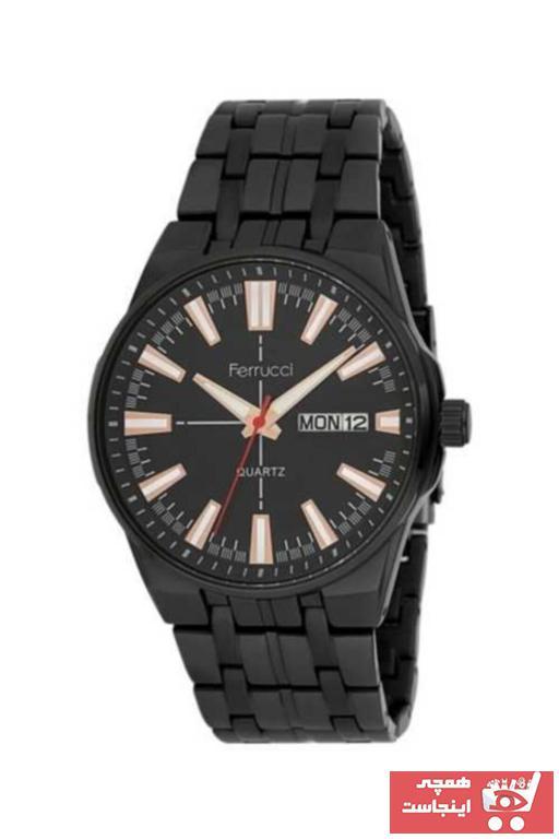 خرید ساعت مچی مردانه  برند Ferrucci رنگ مشکی کد ty96328610