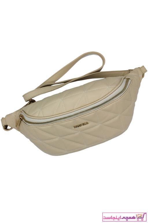 کیف کمری اصل برند Monica Ricci رنگ بژ کد ty96427175
