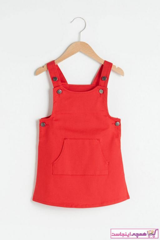 خرید پستی لباس مجلسی نوزاد دخترانه فانتزی برند ال سی وایکیکی ترک رنگ قرمز ty96453494