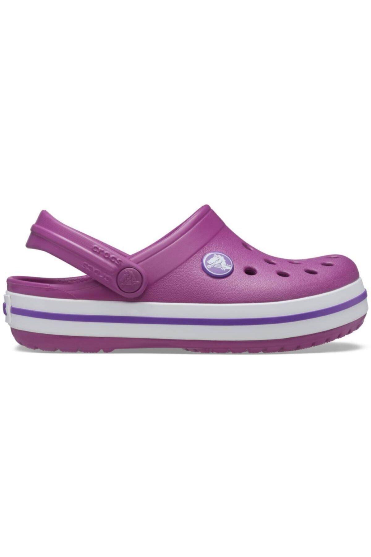 ژورنال دمپایی بچه گانه پسرانه برند Crocs Kids رنگ بنفش کد ty96531269