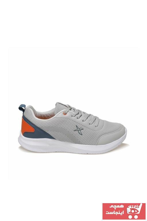 کفش مخصوص پیاده روی مردانه ساده برند کینتیکس kinetix رنگ نقره ای کد ty96624038