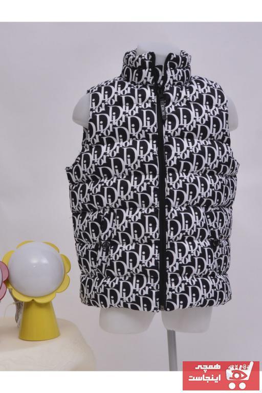 جلیقه دخترانه مارک دار برند mandalin tekstil رنگ مشکی کد ty96696876