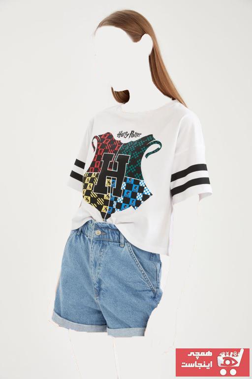فروش تیشرت زنانه حراجی مارک دفاکتو کد ty96994343