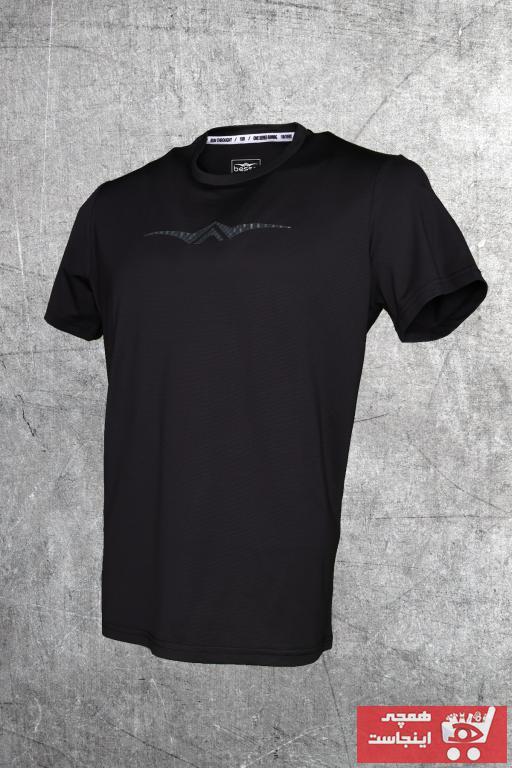 سفارش اینترنتی تیشرت ورزشی زنانه برند BESSA رنگ مشکی کد ty97010145