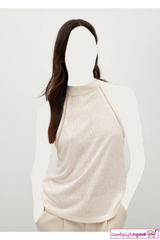 خرید انلاین پولوشرت زنانه طرح دار برند منگو رنگ بژ کد ty97194352