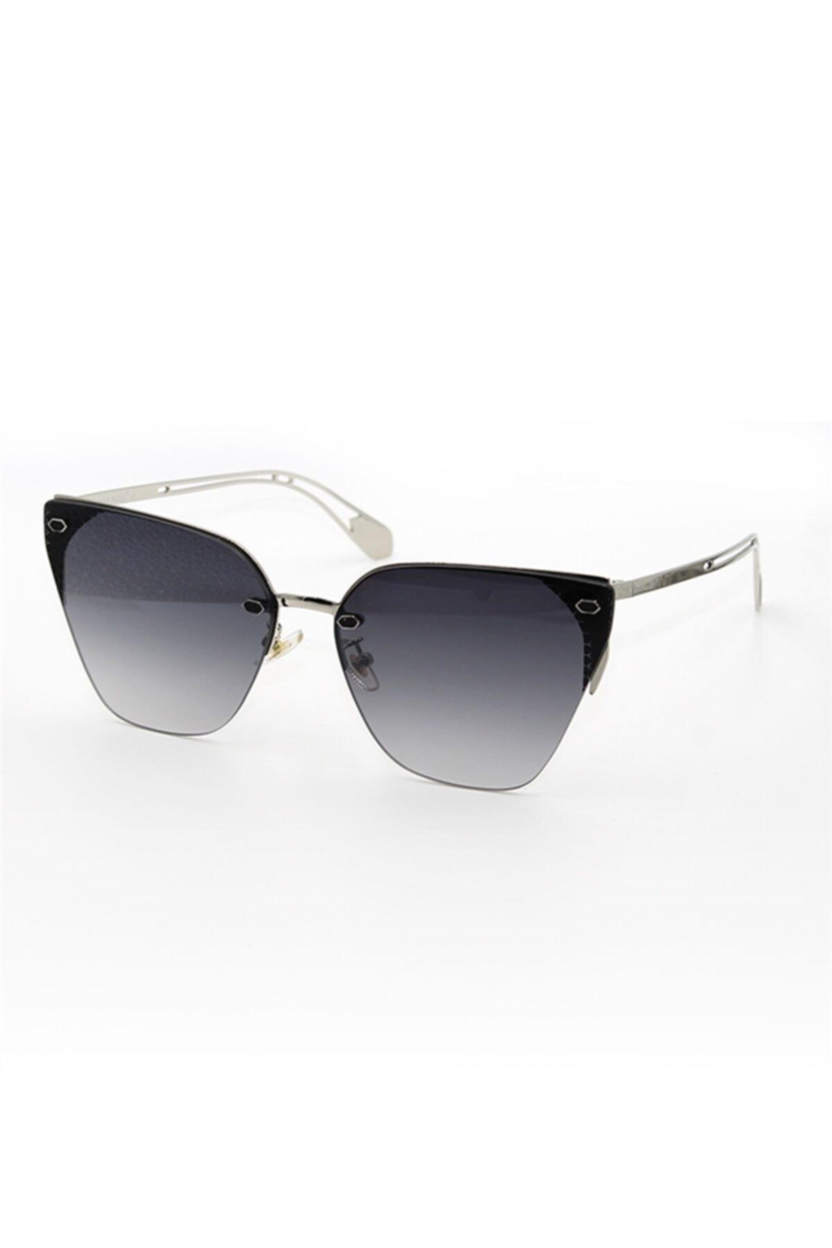 خرید اینترنتی عینک آفتابی زنانه برند Max Polo رنگ مشکی کد ty97238713