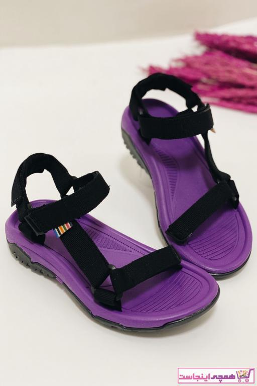 خرید اینترنتی صندل خاص برند Nil Shoes رنگ بنفش کد ty97313155