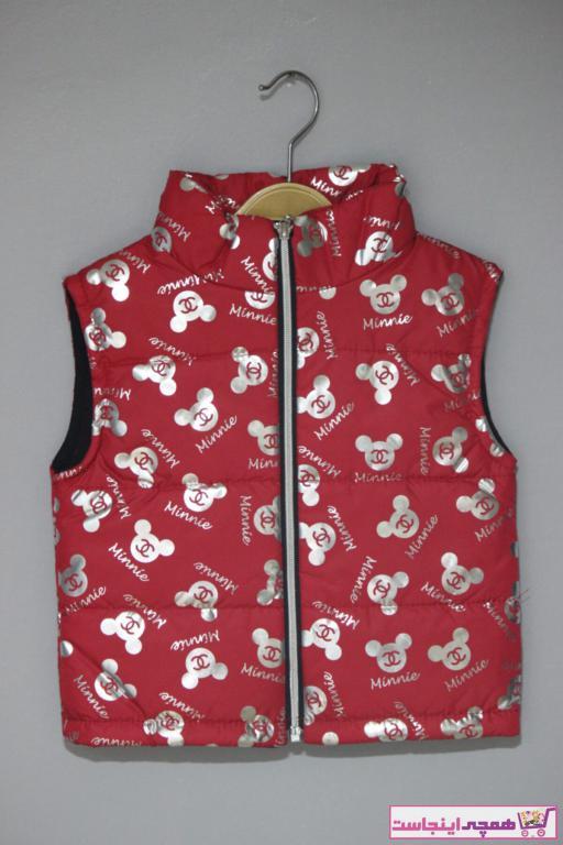 فروش جلیقه دخترانه ترک مجلسی برند Dolce Destino رنگ قرمز ty97432199