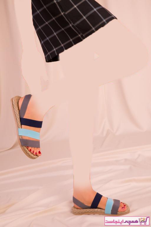 صندل ساده زنانه برند CONFORCİTY رنگ نقره ای کد ty97432313