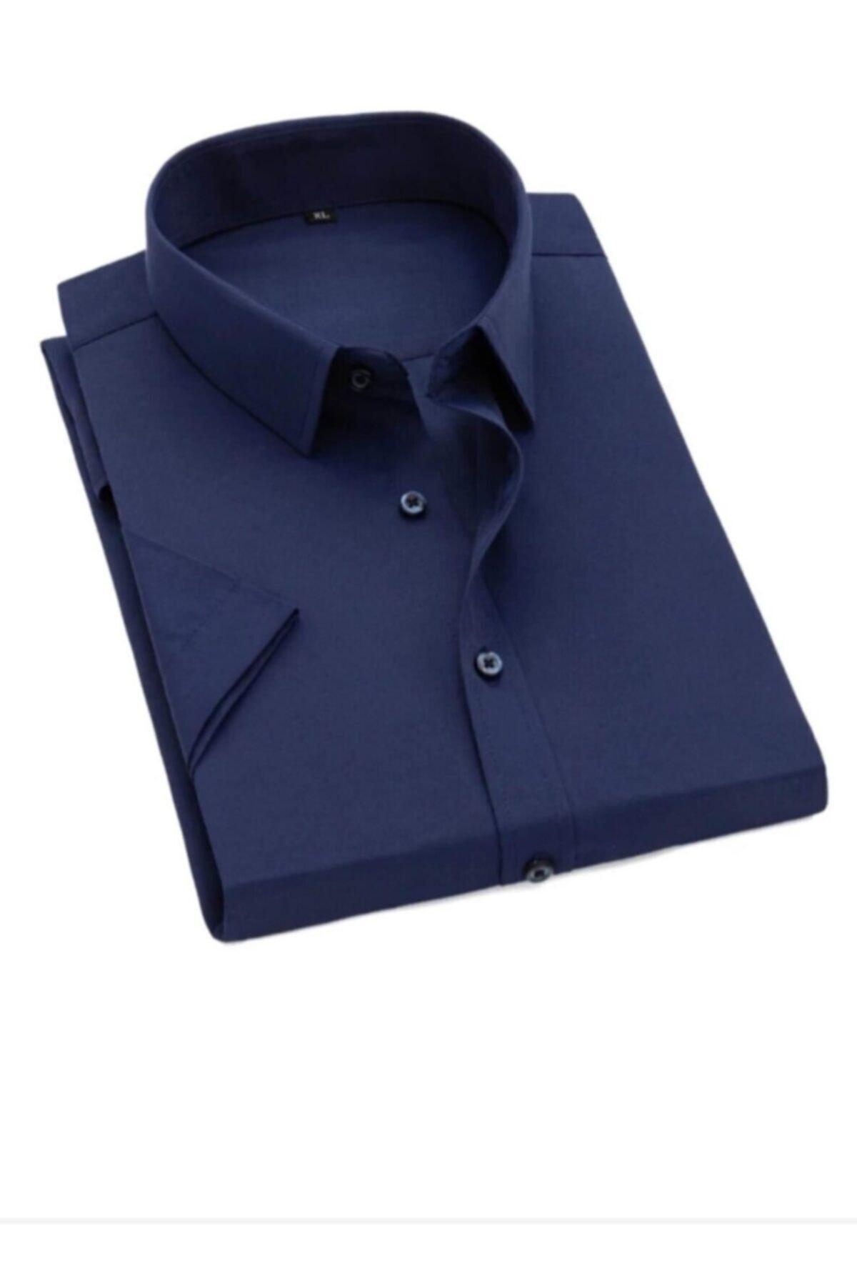 پیراهن مردانه اینترنتی برند nacar çarşı رنگ لاجوردی کد ty97444868