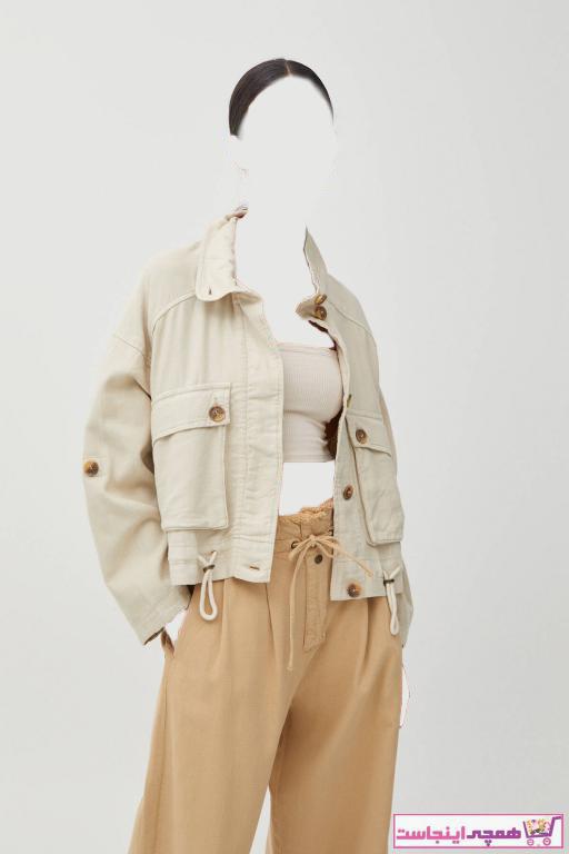 ژاکت زنانه ارزان برند Pull & Bear رنگ بژ کد ty97456310