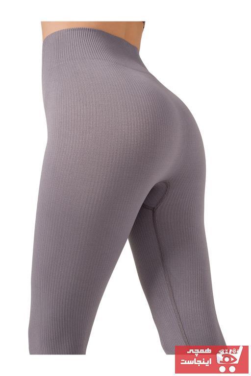 فروشگاه لگ ورزشی زنانه تابلگانی برند LOS OJOS رنگ نقره ای کد ty97598092