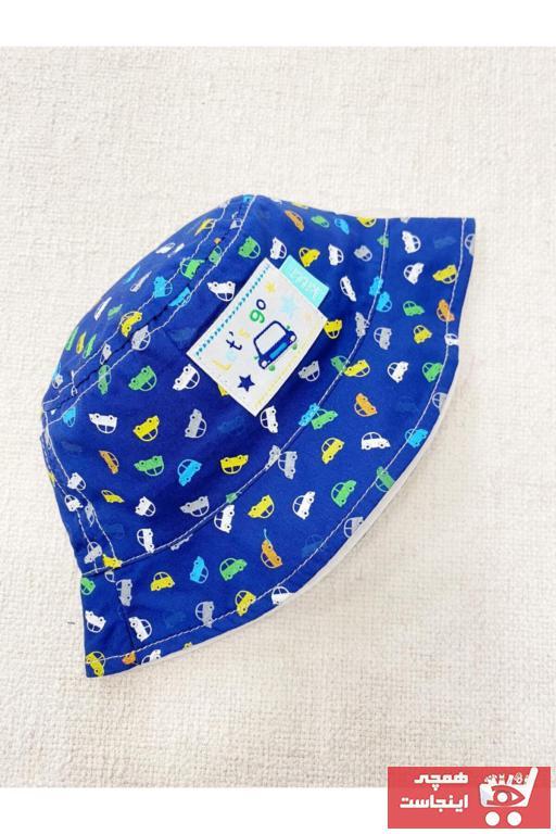 سرپوش نوزاد پسر ارزان برند Kitti رنگ لاجوردی کد ty97604987