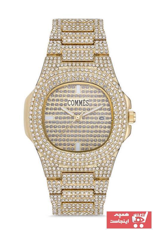 فروش پستی ساعت مچی مردانه لوکس برند COMMES رنگ طلایی ty97826751