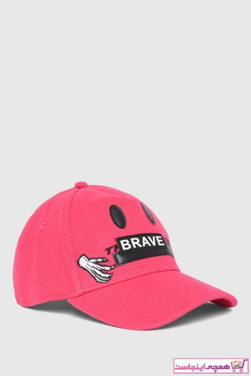 کلاه مردانه اسپرت برند دیزل رنگ قرمز ty97848597