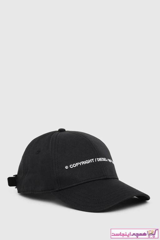 کلاه اورجینال برند دیزل رنگ مشکی کد ty97848695