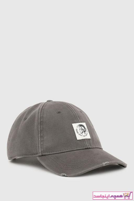 خرید نقدی کلاه مردانه فروشگاه اینترنتی برند دیزل رنگ نقره ای کد ty97848747