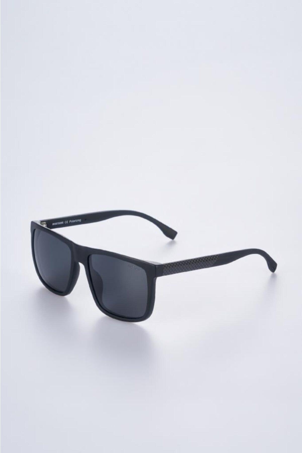خرید غیر حضوری عینک دودی از ترکیه برند موستانگ رنگ مشکی کد ty97922905