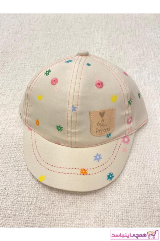 خرید اینترنتی کلاه نوزاد دختر برند Kitti رنگ بژ کد ty98027864