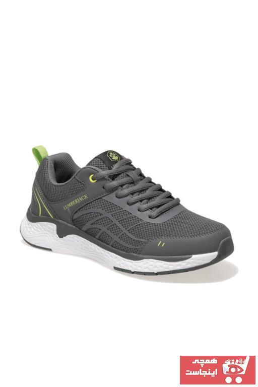 خرید نقدی کفش مخصوص دویدن مردانه  برند lumberjack رنگ نقره ای کد ty98068883