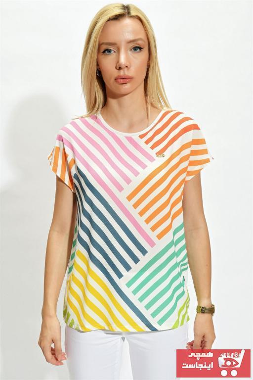 خرید تیشرت زنانه شیک برند یو اس پولو کد ty98112392
