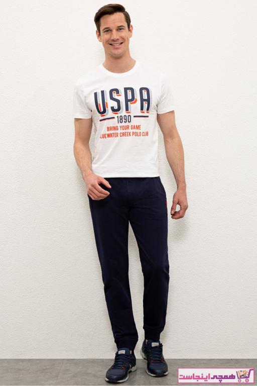 خرید انلاین شلواراسلش مردانه خاص یو اس پولو رنگ لاجوردی کد ty98112657