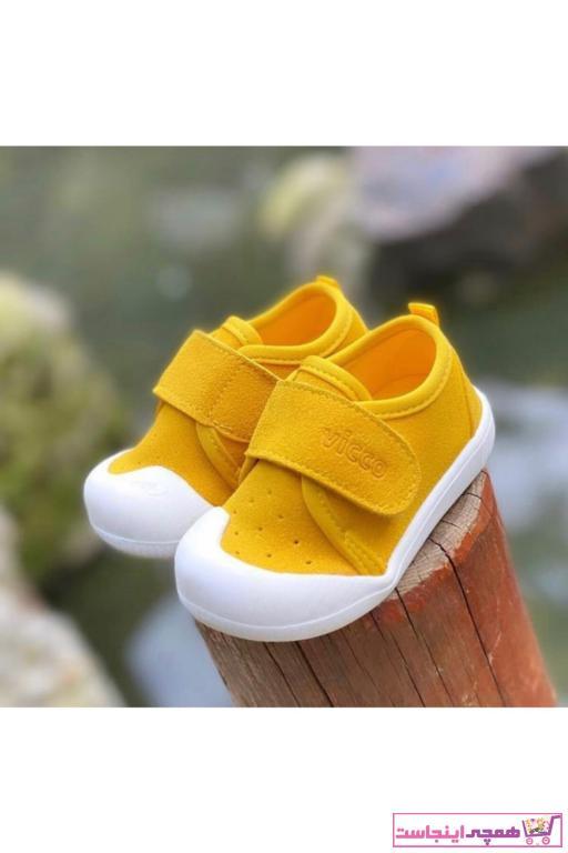 خرید کفش پیاده روی 2021 نوزاد دخترانه برند Vicco رنگ زرد ty98237998