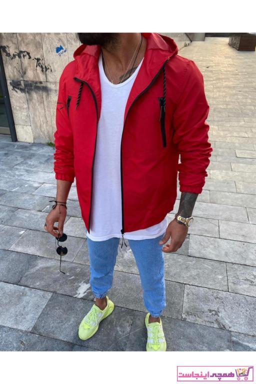 خرید انلاین بارانی مردانه ترکیه برند MODA CİTTY رنگ قرمز ty98332882
