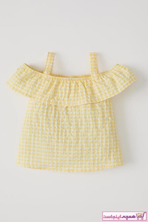 بلوز نوزاد دختر اصل برند دفاکتو ترک رنگ بژ کد ty98333188
