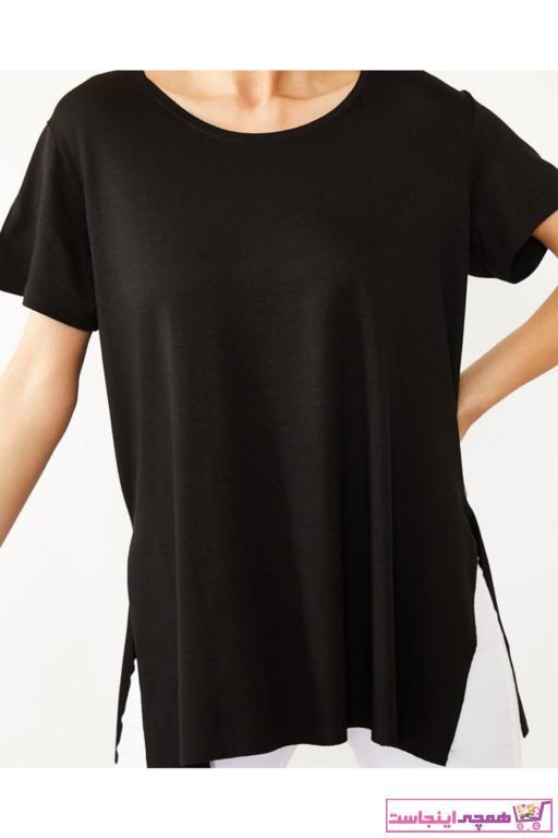 خرید نقدی تیشرت شلوارک زنانه برند VASSTORE رنگ مشکی کد ty98333855