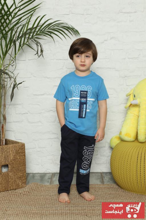 فروش ست راحتی دخترانه برند SezonFashion رنگ آبی کد ty98348009