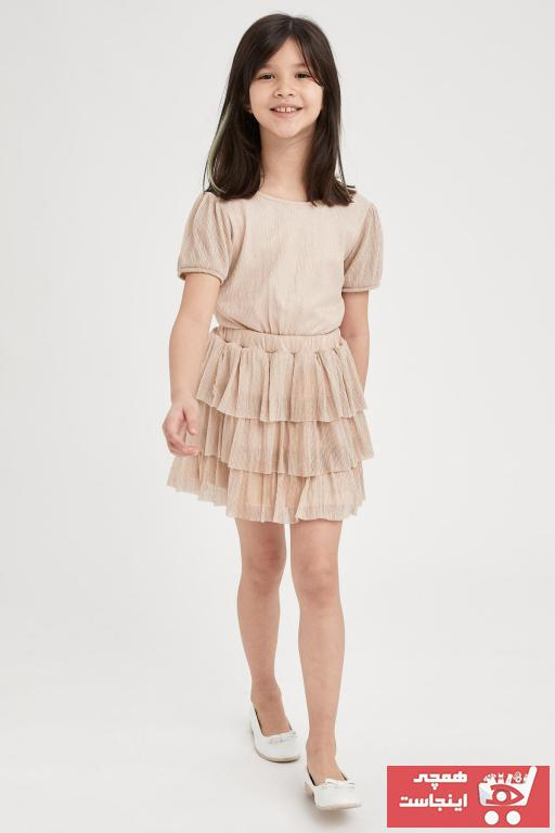 خرید اینترنتی بلوز خاص دخترانه مارک دفاکتو رنگ صورتی ty98374188