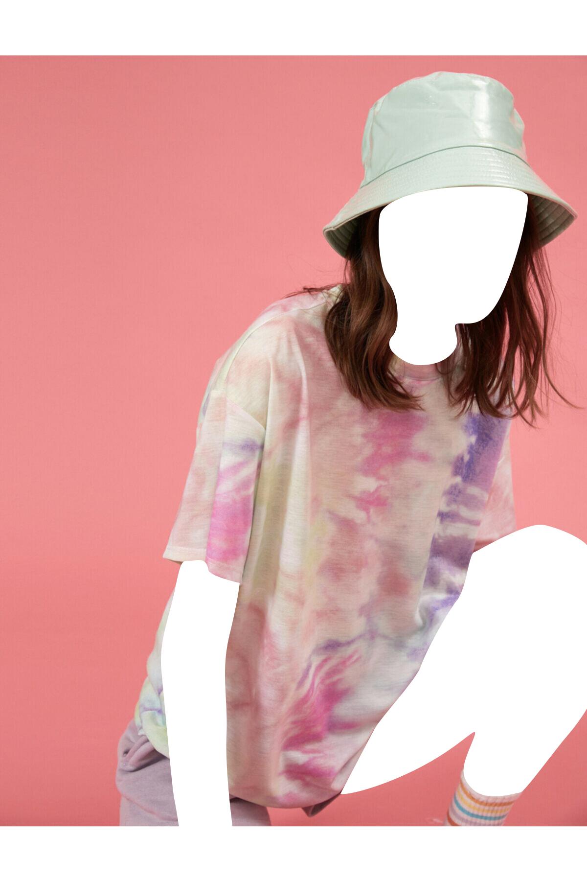 تیشرت 2021 زنانه برند کوتون رنگ بنفش کد ty98377014