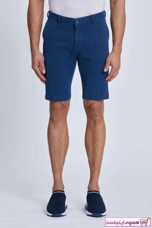 شلوارک مردانه ارزان قیمت برند cortigiano in Bottega رنگ لاجوردی کد ty98412629