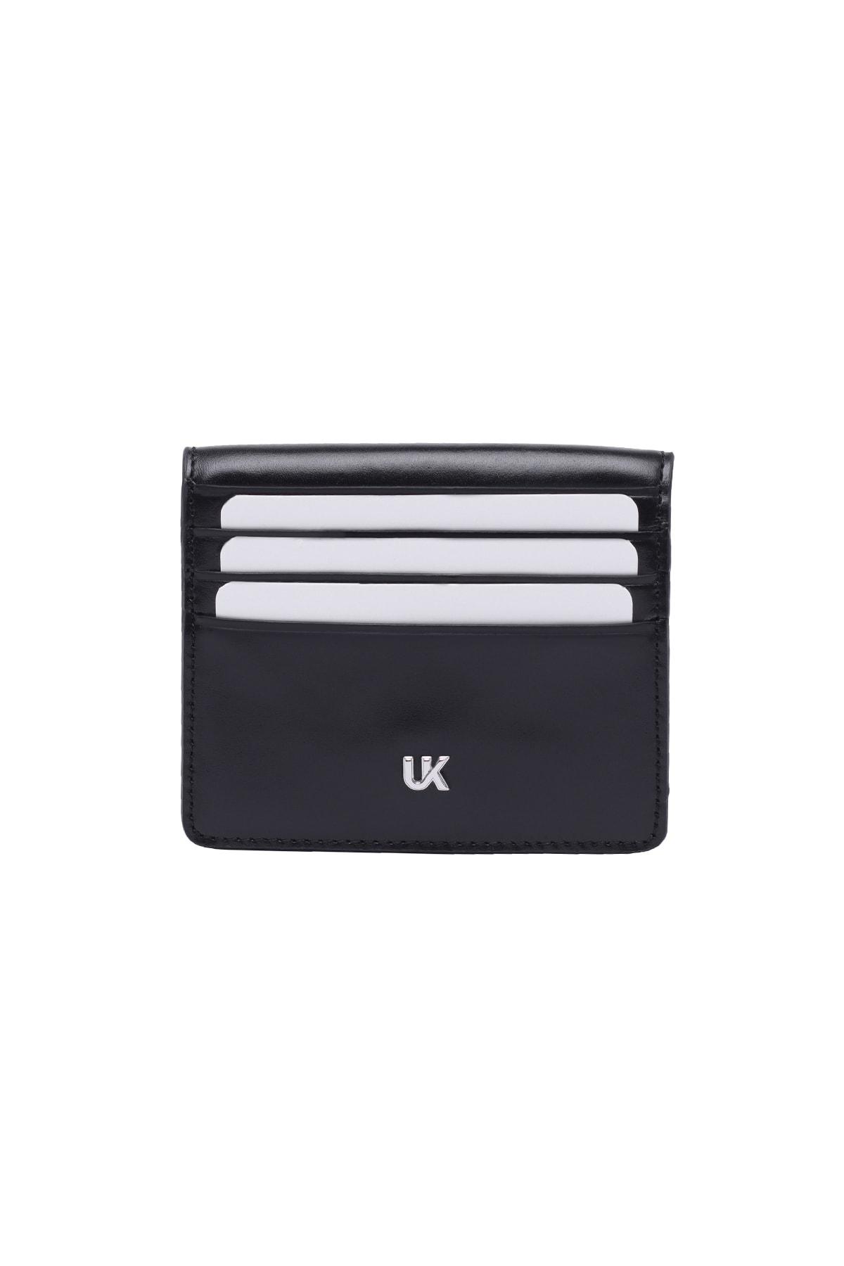 خرید ارزان کیف کارت اعتباری مردانه برند UK Leather Concept رنگ مشکی کد ty98580100