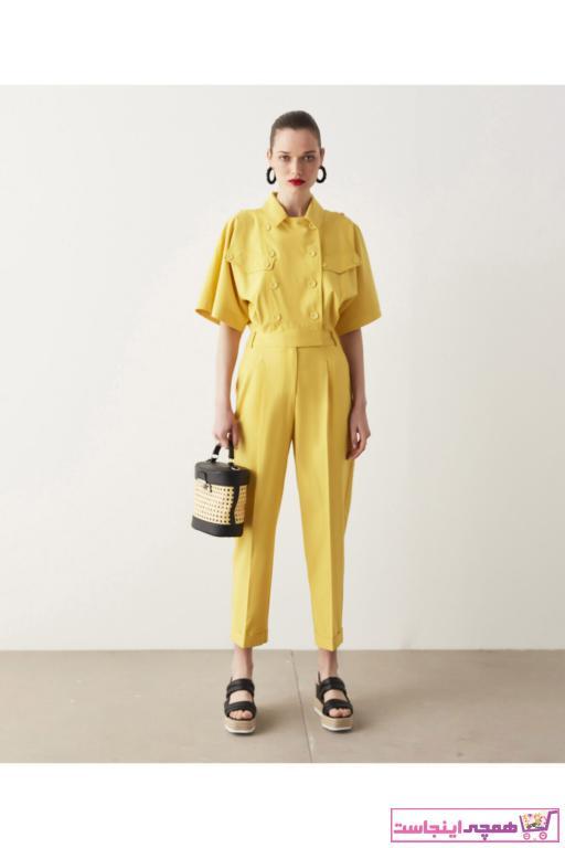 خرید نقدی تولوم پاییزی زنانه برد ایپکیول رنگ زرد ty98771362