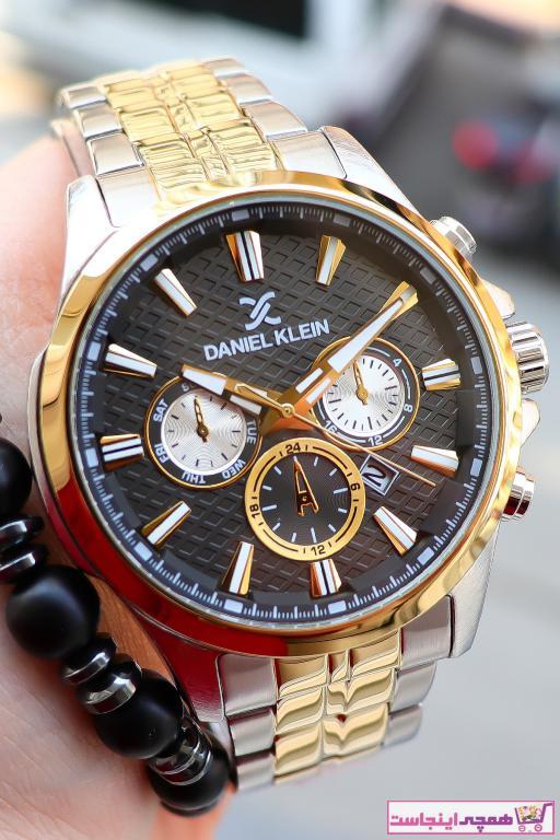 خرید پستی ساعت مردانه برند Daniel Klein رنگ طلایی ty98780979