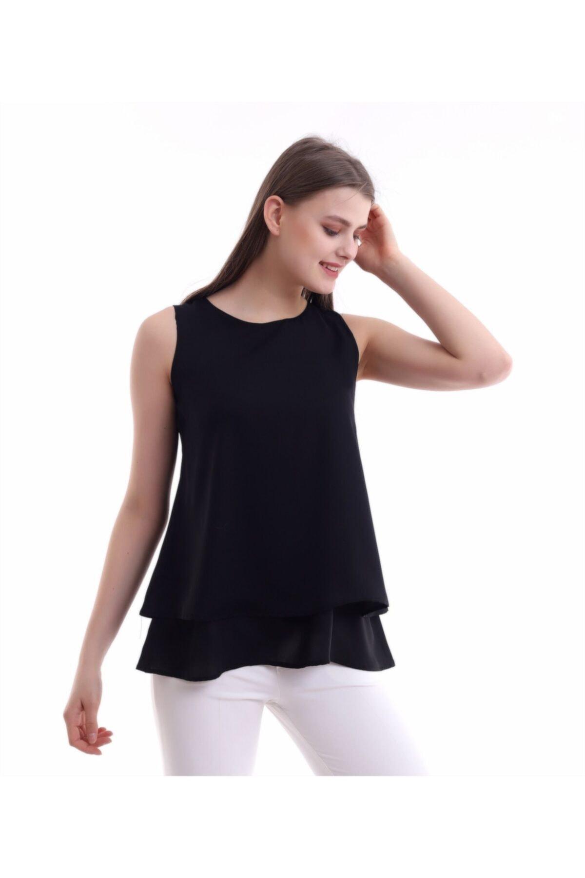 خرید بلوز نخی برند Mankens Fashion رنگ مشکی کد ty98823386