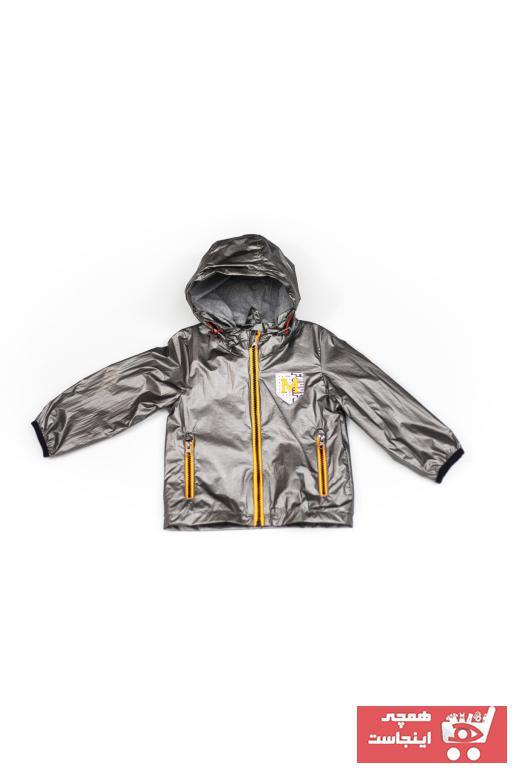 خرید اسان بارانی پسرانه فانتزی برند Verscon رنگ نقره کد ty98829734