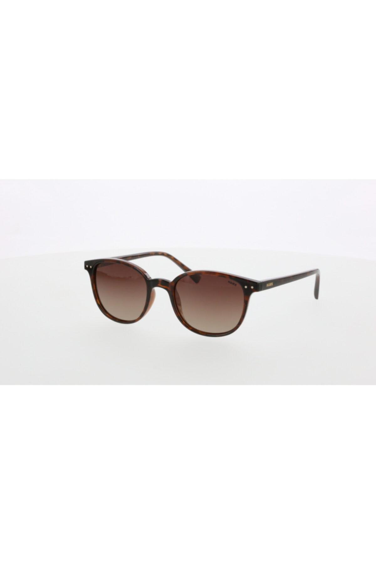 فروش عینک آفتابی مردانه 2021 برند HAWK رنگ قهوه ای کد ty99009524