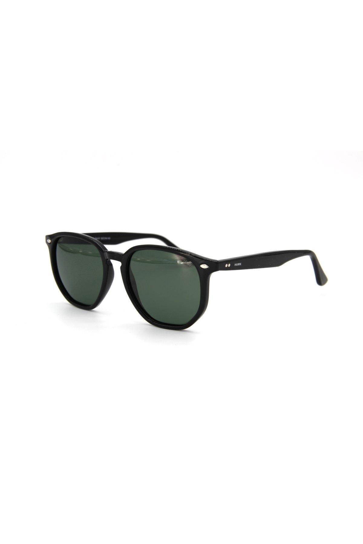 فروش عینک آفتابی یونیسکس جدید برند HAWK رنگ مشکی کد ty99061722