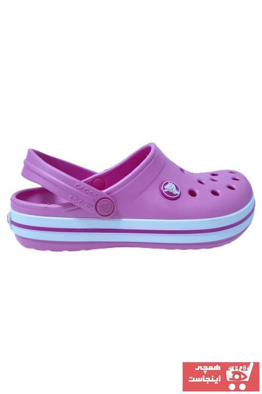 دمپایی ساده برند Crocs رنگ صورتی ty99086611