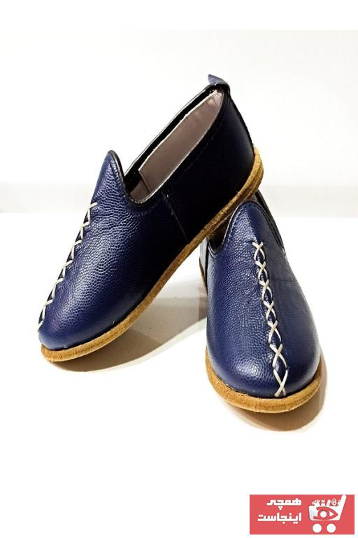 کفش تخت نوزاد پسر  جدید برند YEMENİCİ SERKAN USTA رنگ لاجوردی کد ty99106780