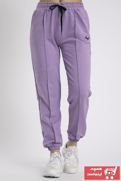 خرید ارزان اسلش زنانه پیاده روی برند WİAWORK رنگ بنفش کد ty99431123
