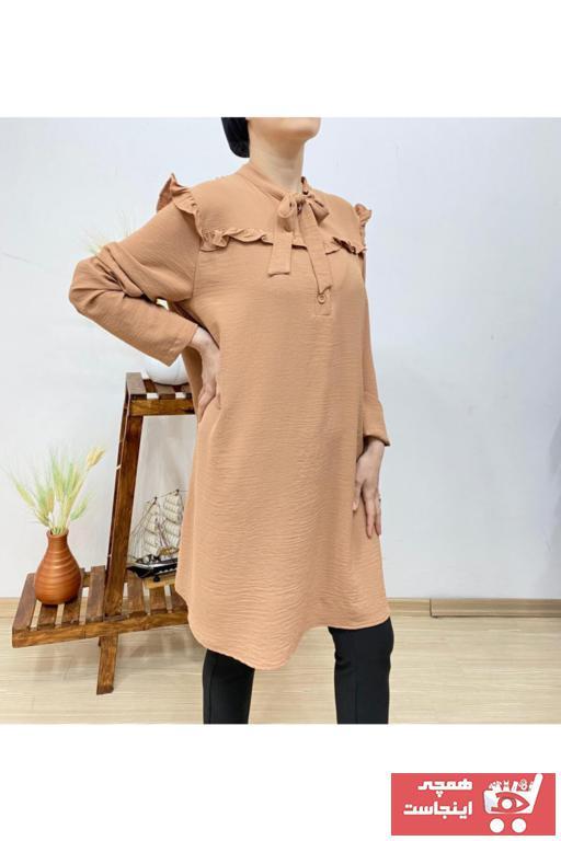 فروش پستی ست تونیک زنانه برند Butik Ahengi رنگ قهوه ای کد ty99491839