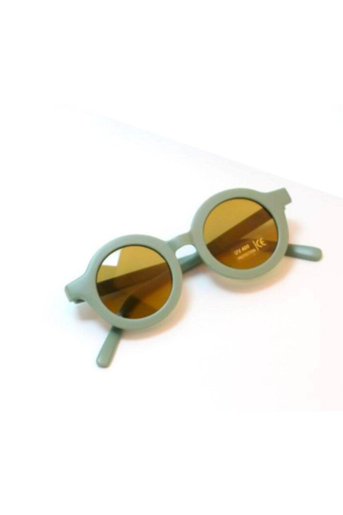 عینک آفتابی بچه گانه پسرانه برند Petityu رنگ سبز کد ty99530330