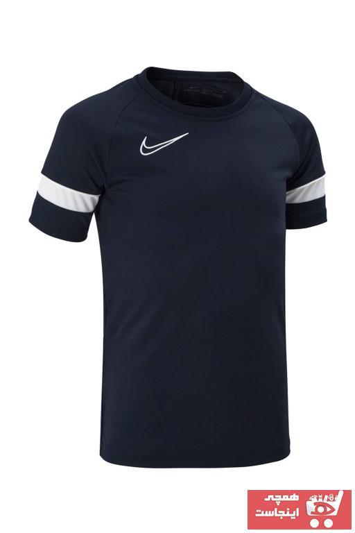 خرید پستی تیشرت ورزشی زیبا مارک نایک رنگ مشکی کد ty99658895