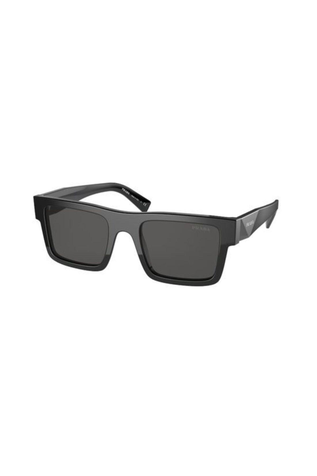 خرید انلاین عینک آفتابی طرح دار برند Prada رنگ مشکی کد ty99768059