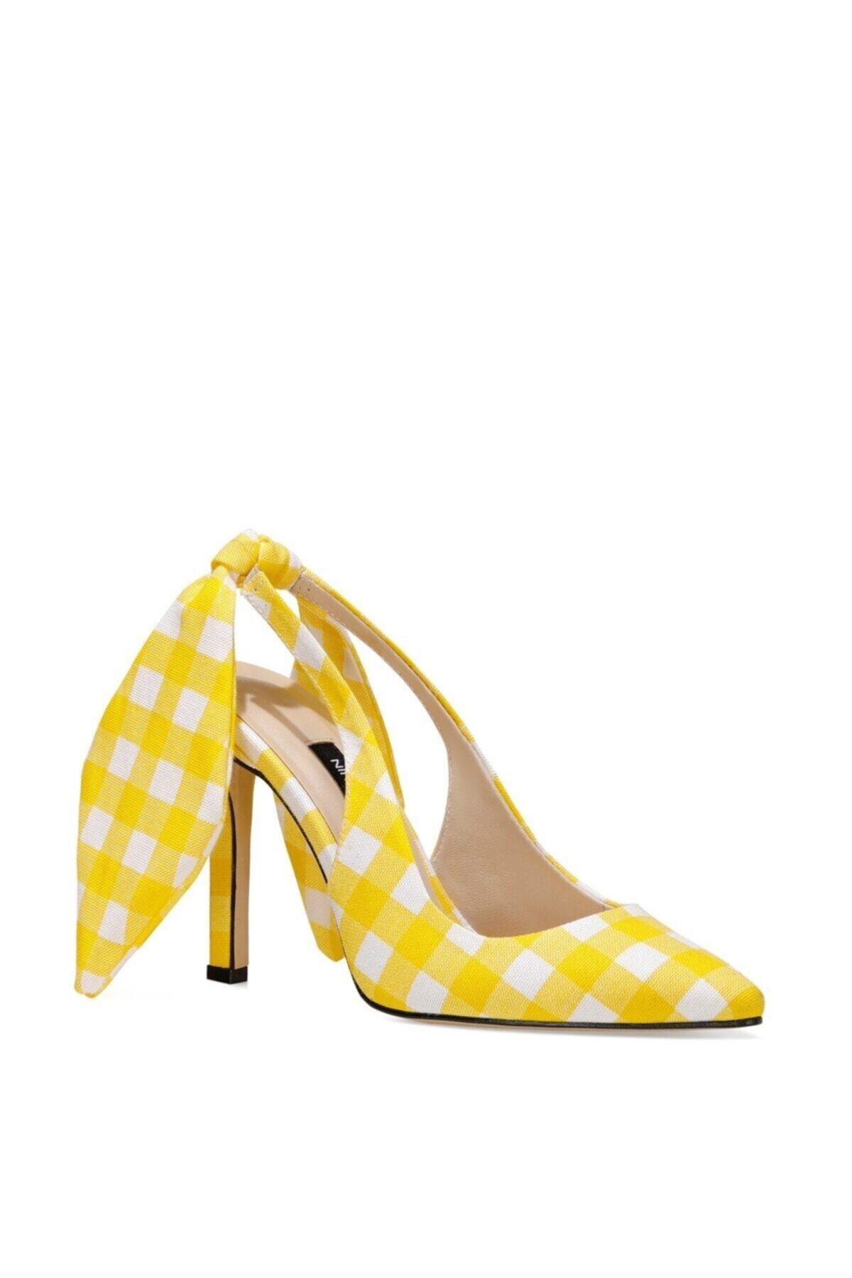 پاشنه دار دخترانه قیمت مناسب برند Nine West رنگ زرد ty99929980
